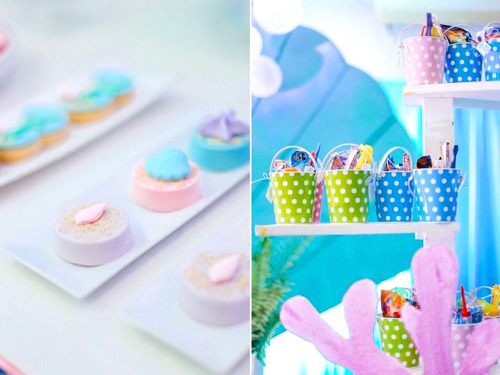 Sweets and favors from a Finding Dory Under the Sea Birthday Party on Kara's Party Ideas | KarasPartyIdeas.com (15)