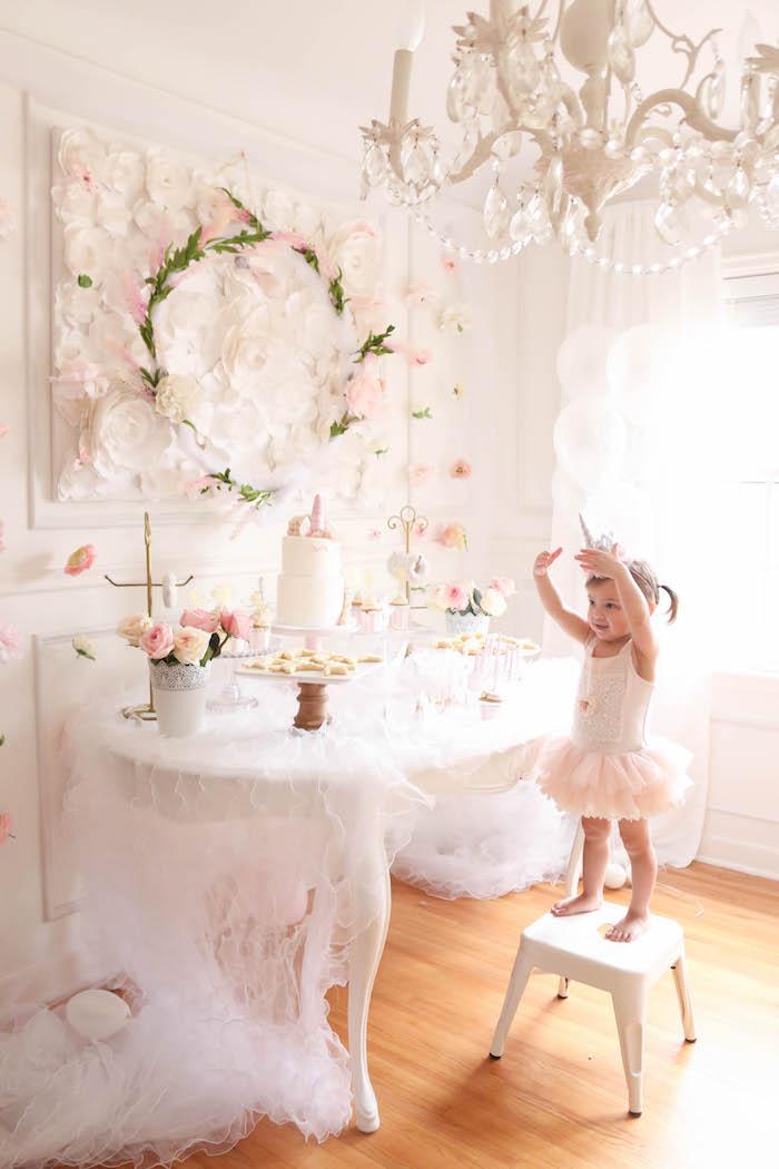 Floral Unicorn Birthday Party on Kara's Party Ideas | KarasPartyIdeas.com (9)