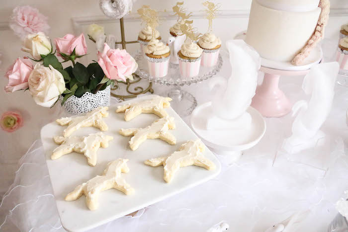 Unicorn cookies and cupcakes from a Floral Unicorn Birthday Party on Kara's Party Ideas | KarasPartyIdeas.com (29)