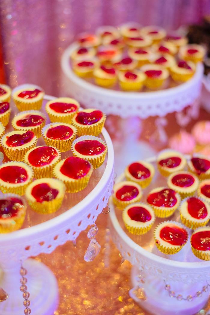Dessert bites from a Glam Royal Princess Birthday Ball on Kara's Party Ideas | KarasPartyIdeas.com (23)