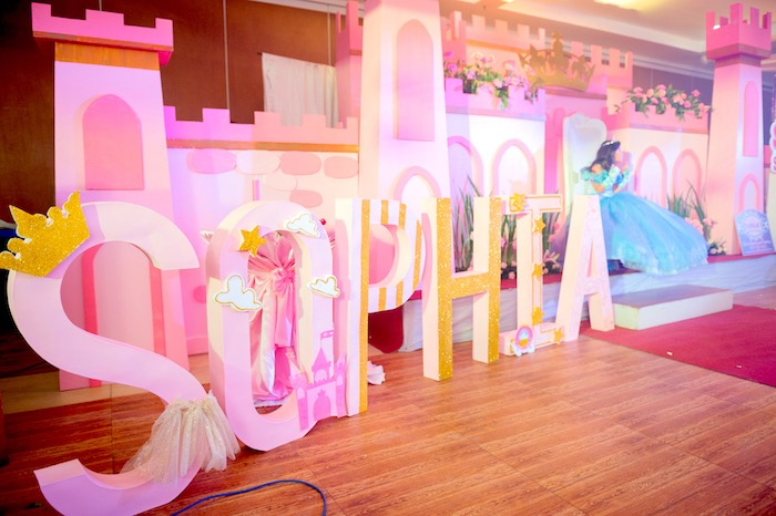 Princess letters from a Glam Royal Princess Birthday Ball on Kara's Party Ideas | KarasPartyIdeas.com (15)