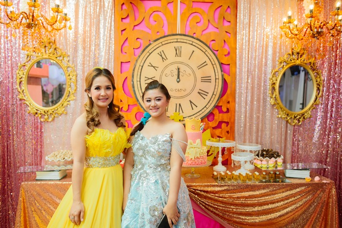 Glam Royal Princess Birthday Ball on Kara's Party Ideas   KarasPartyIdeas.com (14)