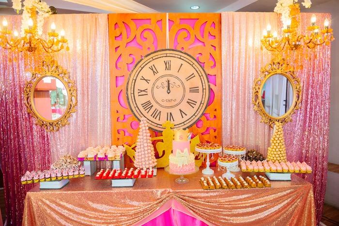 Glam Royal Princess Birthday Ball on Kara's Party Ideas   KarasPartyIdeas.com (9)