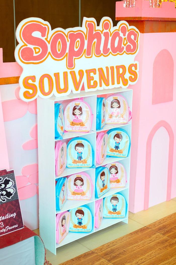 Sophia's Souvenirs from a Glam Royal Princess Birthday Ball on Kara's Party Ideas   KarasPartyIdeas.com (27)