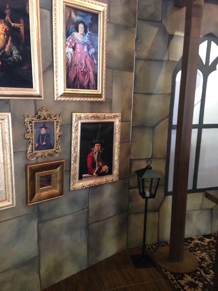 Wall of portraits from a Harry Potter Birthday Party on Kara's Party Ideas | KarasPartyIdeas.com (26)