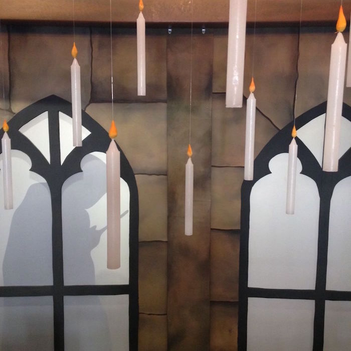 Floating candles from a Harry Potter Birthday Party on Kara's Party Ideas | KarasPartyIdeas.com (23)