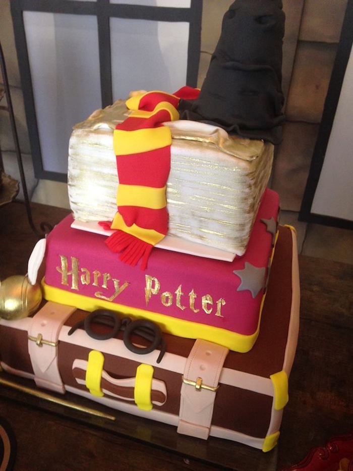 Karas Party Ideas Brazilian Harry Potter Birthday Party
