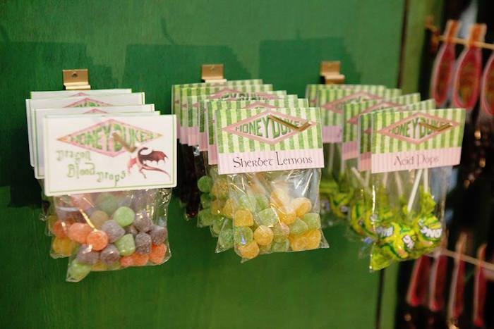 Honeydukes Candy from a Harry Potter Birthday Party on Kara's Party Ideas | KarasPartyIdeas.com (7)