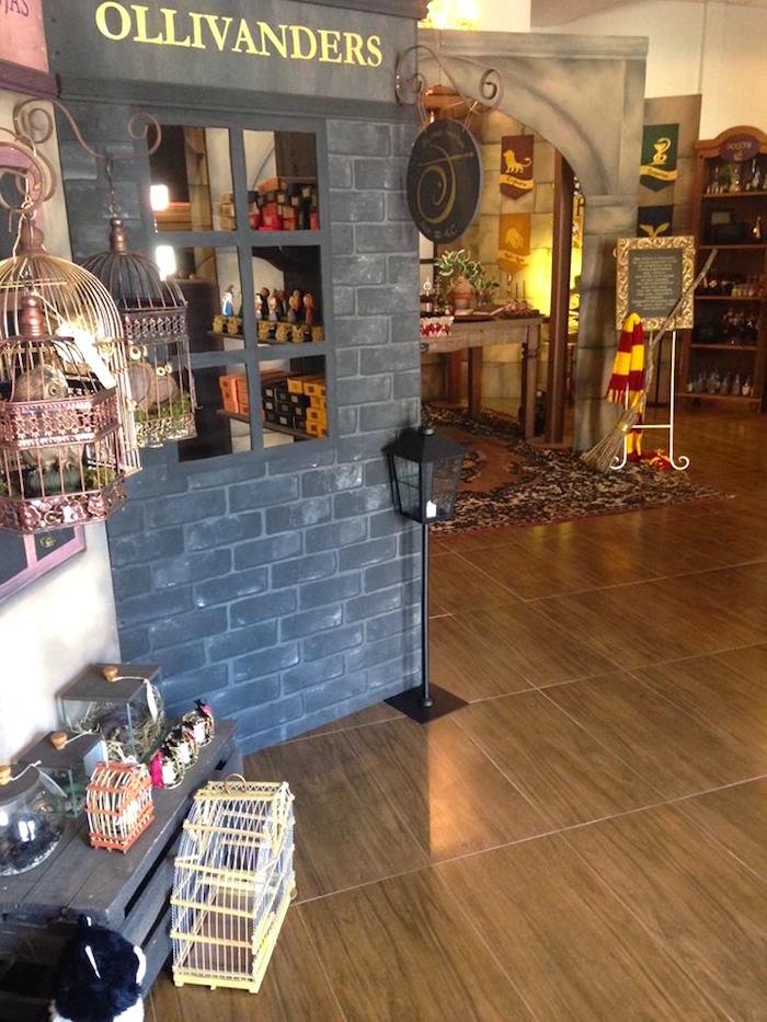 Ollivanders from a Harry Potter Birthday Party on Kara's Party Ideas | KarasPartyIdeas.com (38)