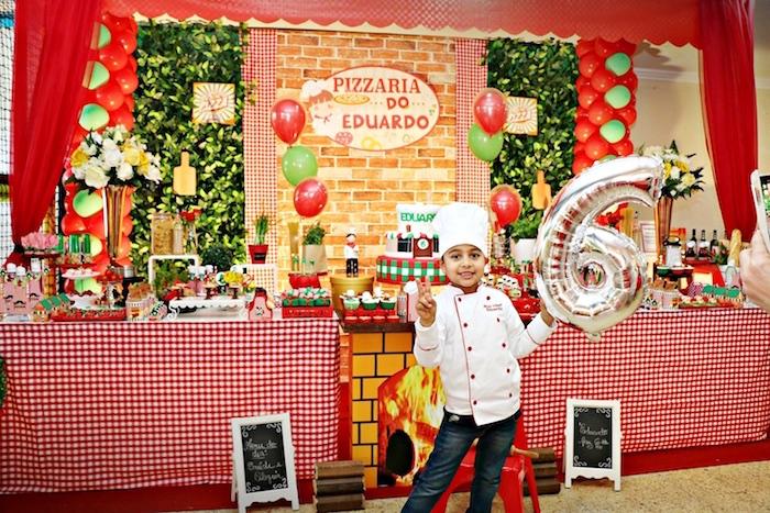 Italian Pizzeria Birthday Party on Kara's Party Ideas | KarasPartyIdeas.com (39)