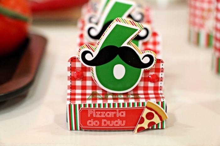 Favors from an Italian Pizzeria Birthday Party on Kara's Party Ideas | KarasPartyIdeas.com (19)