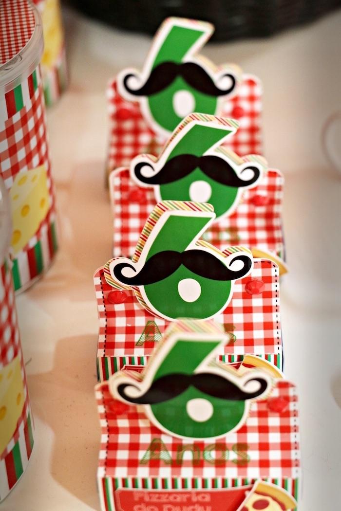 Favors from an Italian Pizzeria Birthday Party on Kara's Party Ideas | KarasPartyIdeas.com (11)