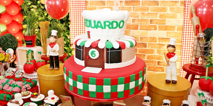 Italian Pizzeria Birthday Party on Kara's Party Ideas | KarasPartyIdeas.com (2)