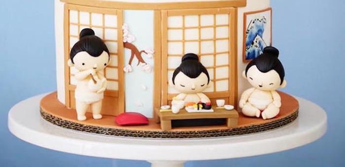 Japanese Sumo Birthday Party on Kara's Party Ideas   KarasPartyIdeas.com (3)