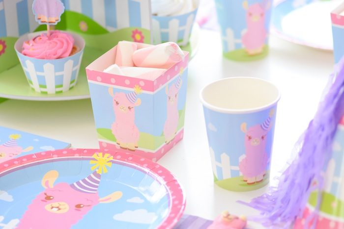 Party details from the Little Llama First Birthday Party via Kara's Party Ideas