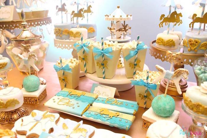 Magical Carousel Birthday Party on Kara's Party Ideas | KarasPartyIdeas.com (20)