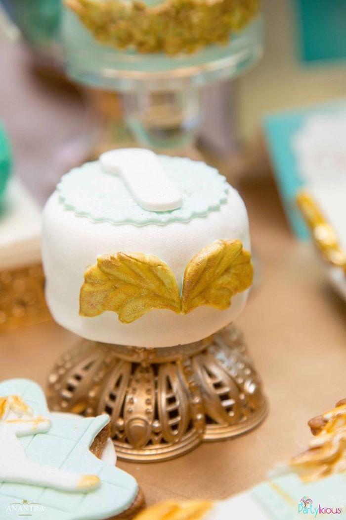 Mini cake from a Magical Carousel Birthday Party on Kara's Party Ideas | KarasPartyIdeas.com (12)