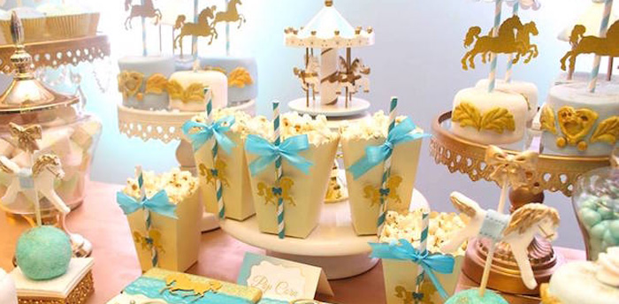 Magical Carousel Birthday Party on Kara's Party Ideas | KarasPartyIdeas.com (1)