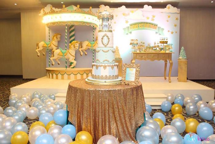 Magical Carousel Birthday Party on Kara's Party Ideas | KarasPartyIdeas.com (25)