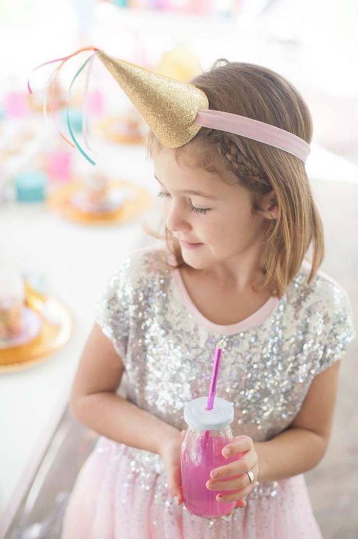 Magical Unicorn and Rainbow Birthday Party on Kara's Party Ideas   KarasPartyIdeas.com (9)
