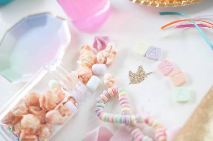 Magical Unicorn and Rainbow Birthday Party on Kara's Party Ideas   KarasPartyIdeas.com (34)