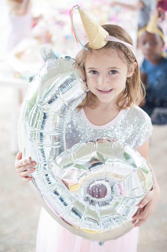 Karas Party Ideas Magical Unicorn And Rainbow Birthday Party
