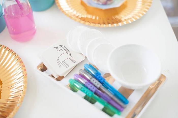 Magical Unicorn and Rainbow Birthday Party on Kara's Party Ideas   KarasPartyIdeas.com (28)