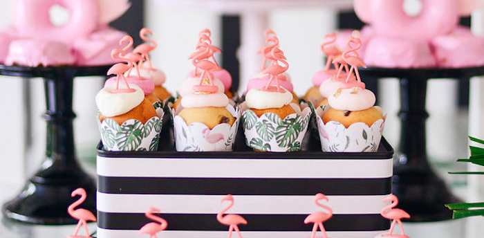 Modern Flamingo Birthday Party on Kara's Party Ideas | KarasPartyIdeas.com (2)
