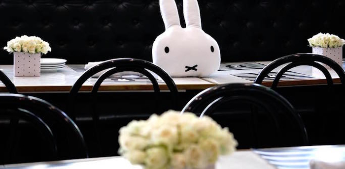 Monochromatic Miffy Inspired Birthday Party on Kara's Party Ideas | KarasPartyIdeas.com (3)