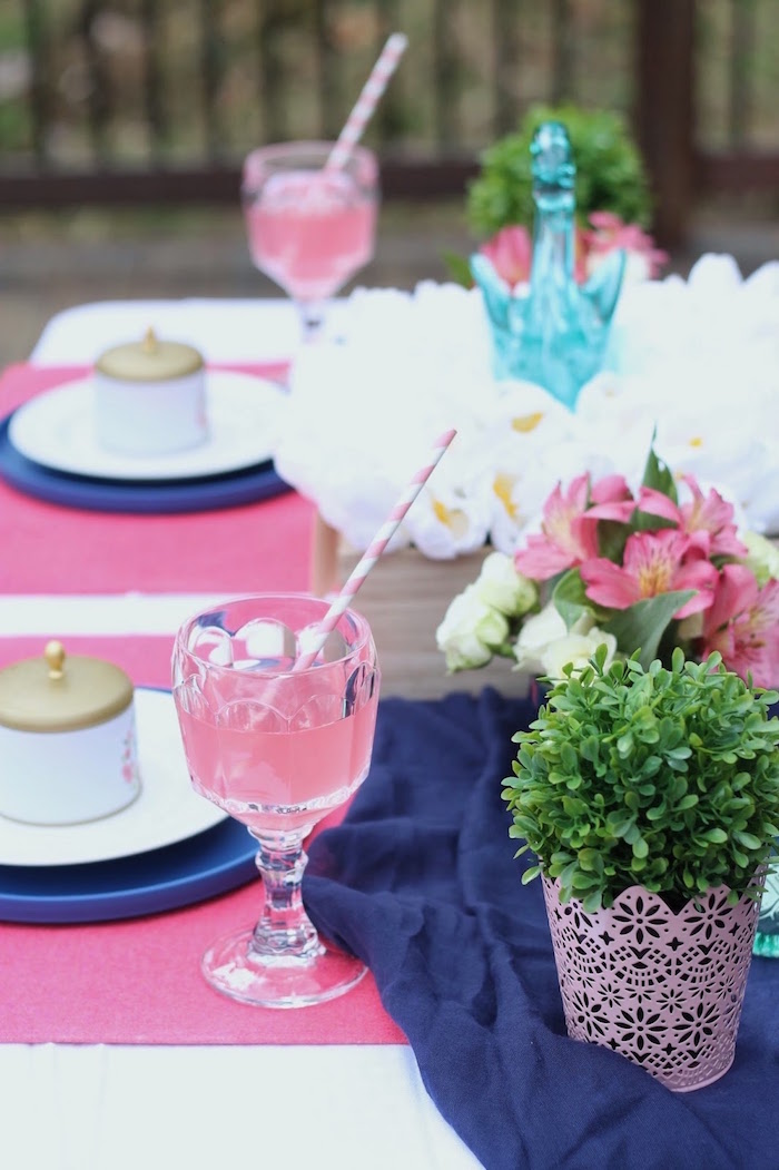 Guest tablescape from a Mother's Day Ladies Lunch on Kara's Party Ideas | KarasPartyIdeas.com (14)