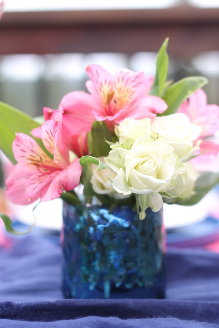 Spring blooms from a Mother's Day Ladies Lunch on Kara's Party Ideas | KarasPartyIdeas.com (13)