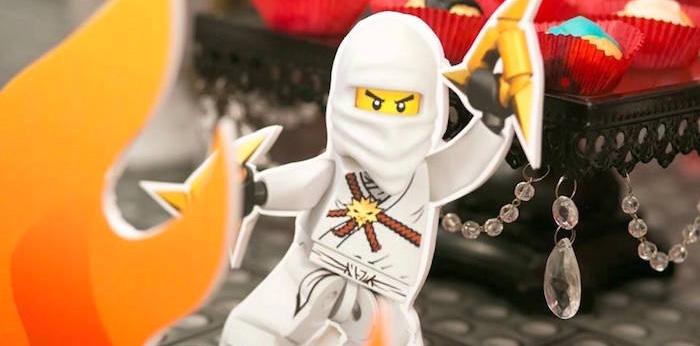 Ninjago Lego Ninja Birthday Party on Kara's Party Ideas   KarasPartyIdeas.com (2)