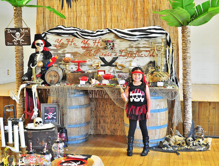 Kara S Party Ideas Pirates Of The Caribbean Birthday Party
