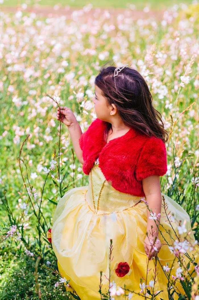 Princess Belle Beauty and the Beast Birthday Party on Kara's Party Ideas | KarasPartyIdeas.com (7)