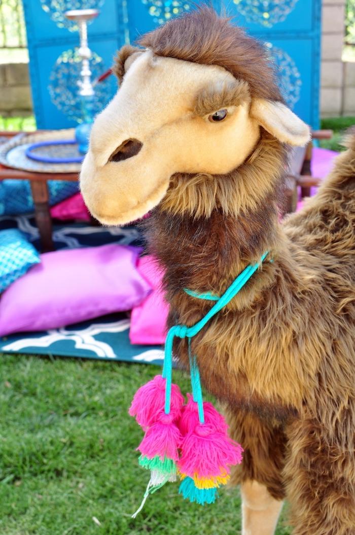 Plush camel from a Princess Jasmine Arabian Nights Birthday Party on Kara's Party Ideas | KarasPartyIdeas.com (25)