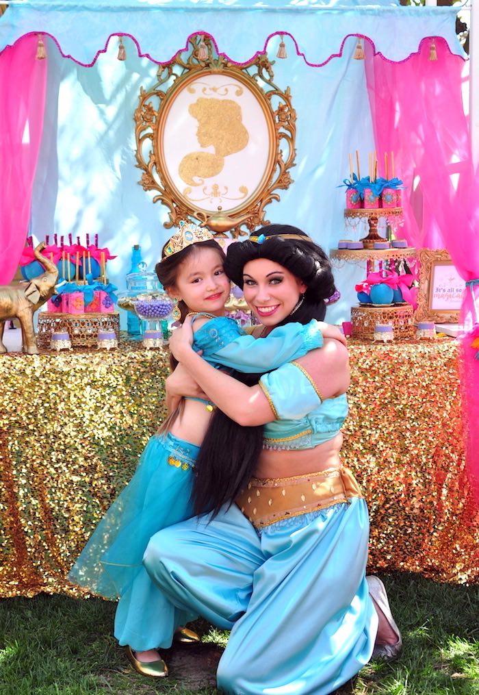 Princess Jasmine Arabian Nights Birthday Party on Kara's Party Ideas | KarasPartyIdeas.com (9)