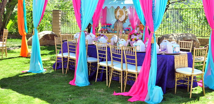 Princess Jasmine Arabian Nights Birthday Party on Kara's Party Ideas | KarasPartyIdeas.com (6)