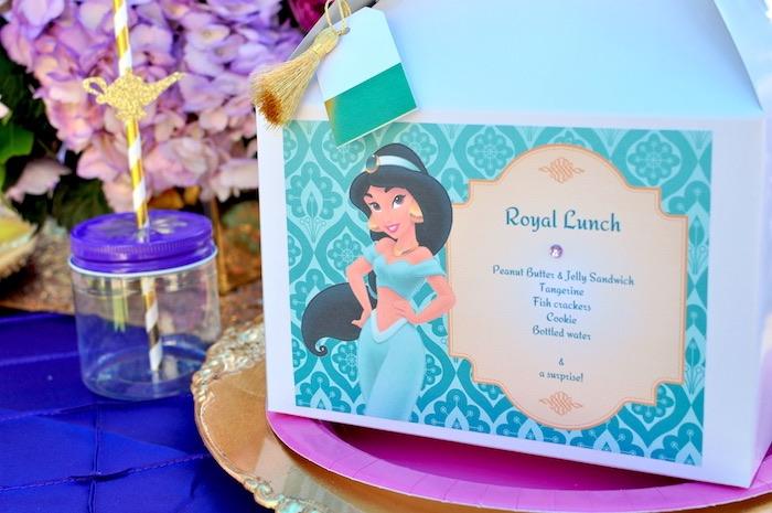 Gable lunch + favor box from a Princess Jasmine Arabian Nights Birthday Party on Kara's Party Ideas | KarasPartyIdeas.com (41)