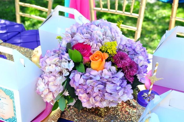 Blooms from a Princess Jasmine Arabian Nights Birthday Party on Kara's Party Ideas | KarasPartyIdeas.com (40)