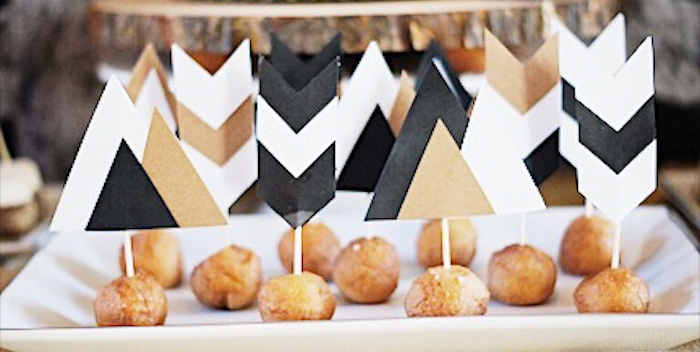 Rustic Camping First Birthday Party on Kara's Party Ideas | KarasPartyIdeas.com (4)