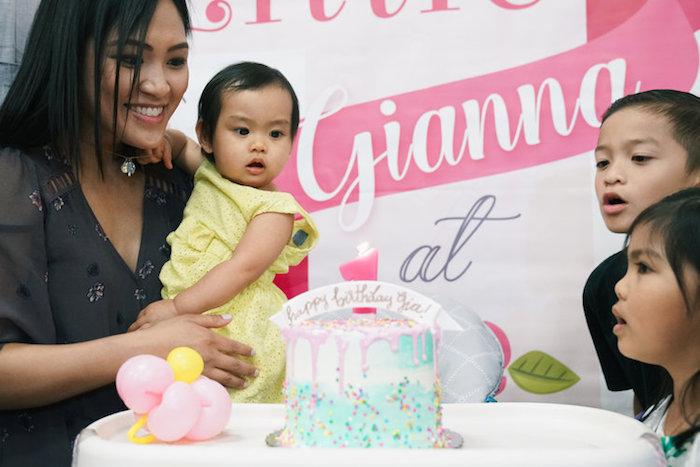 Spring Inspired 1st Birthday Party on Kara's Party Ideas | KarasPartyIdeas.com (5)
