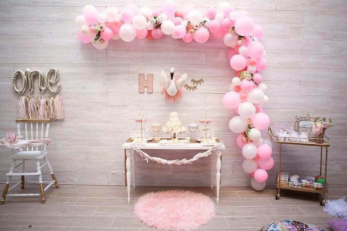 Sweet Swan Birthday Party on Kara's Party Ideas | KarasPartyIdeas.com (37)