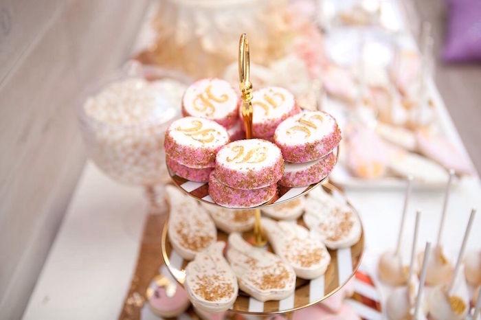 Chocolate covered Oreos from a Sweet Swan Birthday Party on Kara's Party Ideas | KarasPartyIdeas.com (10)