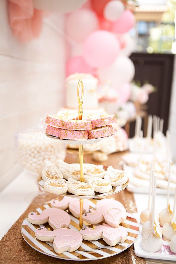Kara S Party Ideas Magical Sweet Swan Birthday Party