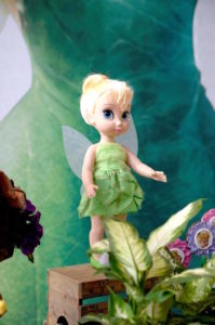Tinkerbell doll from a Tinkerbell Fairy Birthday Party on Kara's Party Ideas | KarasPartyIdeas.com (13)