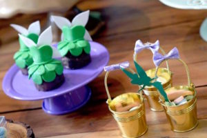 Sweets and favors from a Tinkerbell Fairy Birthday Party on Kara's Party Ideas | KarasPartyIdeas.com (6)