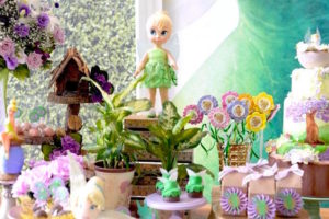 Dessert table details from a Tinkerbell Fairy Birthday Party on Kara's Party Ideas | KarasPartyIdeas.com (5)