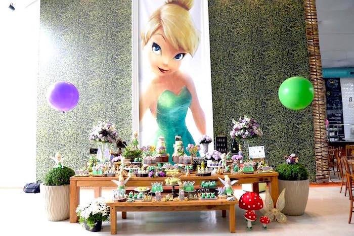 Tinkerbell Fairy Birthday Party on Kara's Party Ideas | KarasPartyIdeas.com (19)