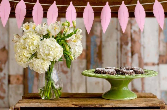 Bundt cakes and blooms from a Tribal Cactus Birthday Party on Kara's Party Ideas | KarasPartyIdeas.com (16)