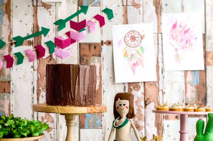 Tribal Cactus Birthday Party on Kara's Party Ideas | KarasPartyIdeas.com (25)